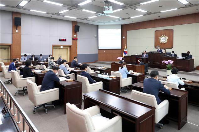 서초구의회, 제297회 임시회 폐회